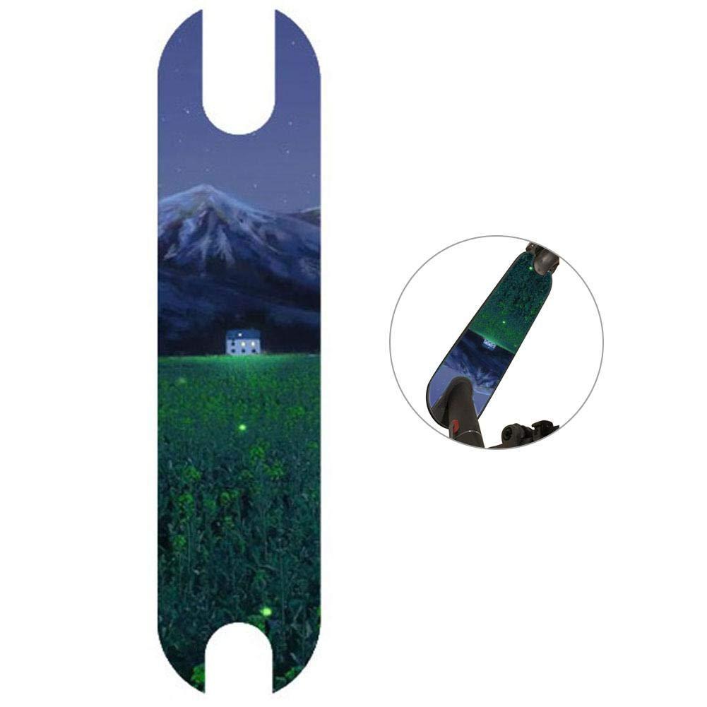 Never-hu wasserdichte Roller-Pedal-Aufkleber PVC-Pedal-Auflage-Aufkleber f/ür elektrischen Roller Xiaomi M365