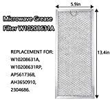 Fetechmate W10208631A (2 Pcs) Microwave Grease