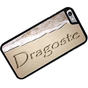 Rubber Case for iphone 6 Love in Romanian language written on beach - Neonblond
