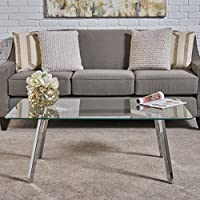 Verna Tempered Glass Coffee Table