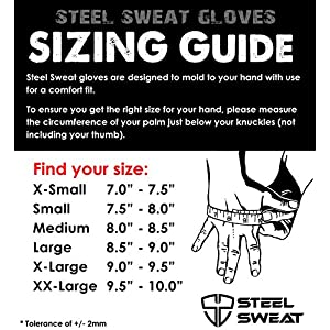 Workout Gloves - Best for Weightlifting Gym Fitness Training and CrossFit – Made for Men and Women who love Lifting Weights and Exercise - Leather SCARR Gray XXL