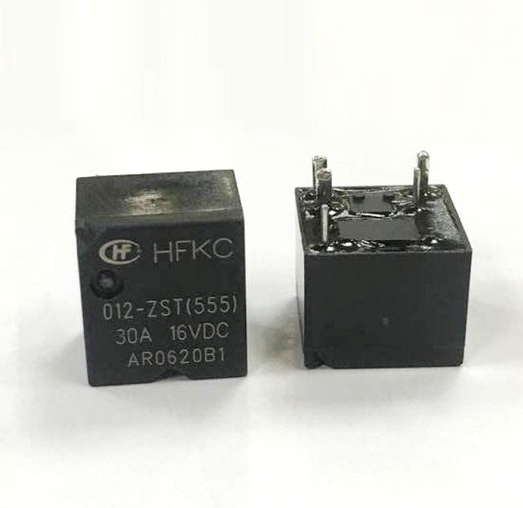 perfk 5 St/ück 5-polig KFZ Relais Set Umschaltrelais Wechselrelais f/ür Automotive Electronik