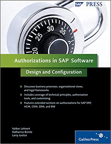 Authorizations SAP Software Security