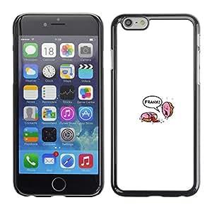 MOBMART Slim Sleek Hard Back Case Cover Armor Shell FOR Apple iPhone 6 PLUS / 6S PLUS 5.5 - Donut Murder - Funny