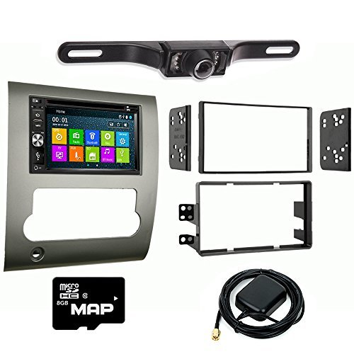 Smart Hitch (Otto Navi DVD GPS Navigation Multimedia Radio and Kit for Nissan Titan 2008-2012 with Back up camera and extra)