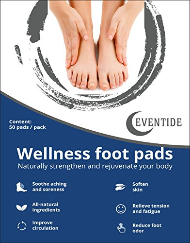 Premium Foot Pads: (50pc) - Rapid Pain Relief & Foot Health, Fresh Scent, New Formula for 2019 - http://coolthings.us