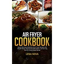 Air Fryer Cookbook: Air Fryer Recipes with Color Photos