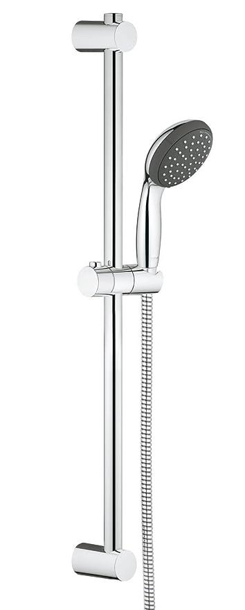 Grohe Vitalio Start 100 - Conjunto de ducha con soporte (2 tipos de chorro)