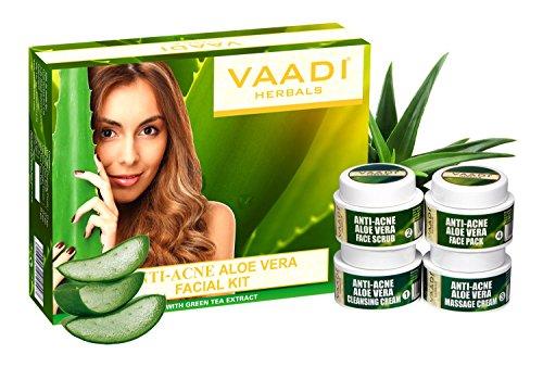 Vaadi Herbals Facial Kit - Aloe Vera Facial Kit With Cedarwo