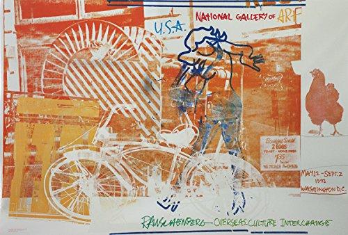 Robert RAUSCHENBERG Bicycle, National Gallery 26.5