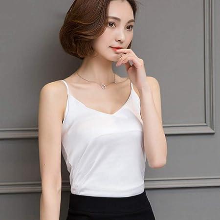 KCMCY Blusas Crop Top Clothes Tropical Womens Tank Tops Seda Mujer Camisa Sin Mangas, XXL: Amazon.es: Hogar