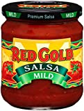 Red Gold Mild Salsa, 15.5oz Jar (Pack of 12)