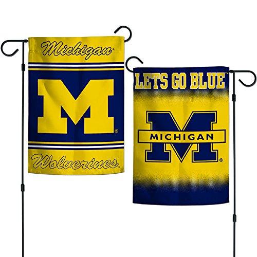 - Elite Fan Shop Michigan Wolverines Garden Flag 12.5