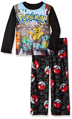 Pokemon Boys' 2-Piece Pajama Set Photo