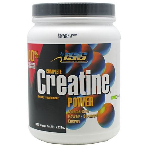 ISS Complete Creatine Power, 2.2 lbs (1000 g) by ISS by ISS