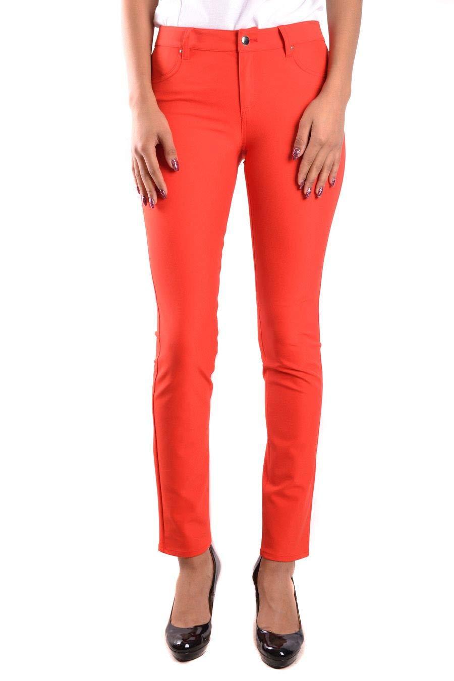 Pinko Women's UMILER23 Red Polyamide Pants