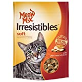 Meow Mix Irresistibles Soft Cat Treats with Real White Meat Chicken, 3 oz