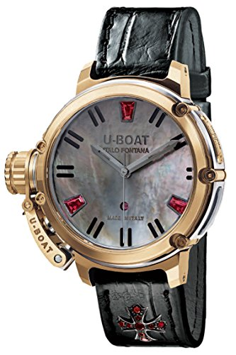 U-Boat Chimera Auto 40mm SS Gold 8034