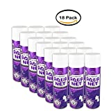 PACK OF 18 - Aqua Net All Weather Professional Hairspray, Extra Super Hold, Unscented, 11 oz
