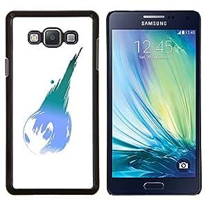 Queen Pattern - FOR Samsung Galaxy A7 - earth planet modern art ball blue turquoise - Cubierta del caso de impacto con el patr???¡¯???€????€????