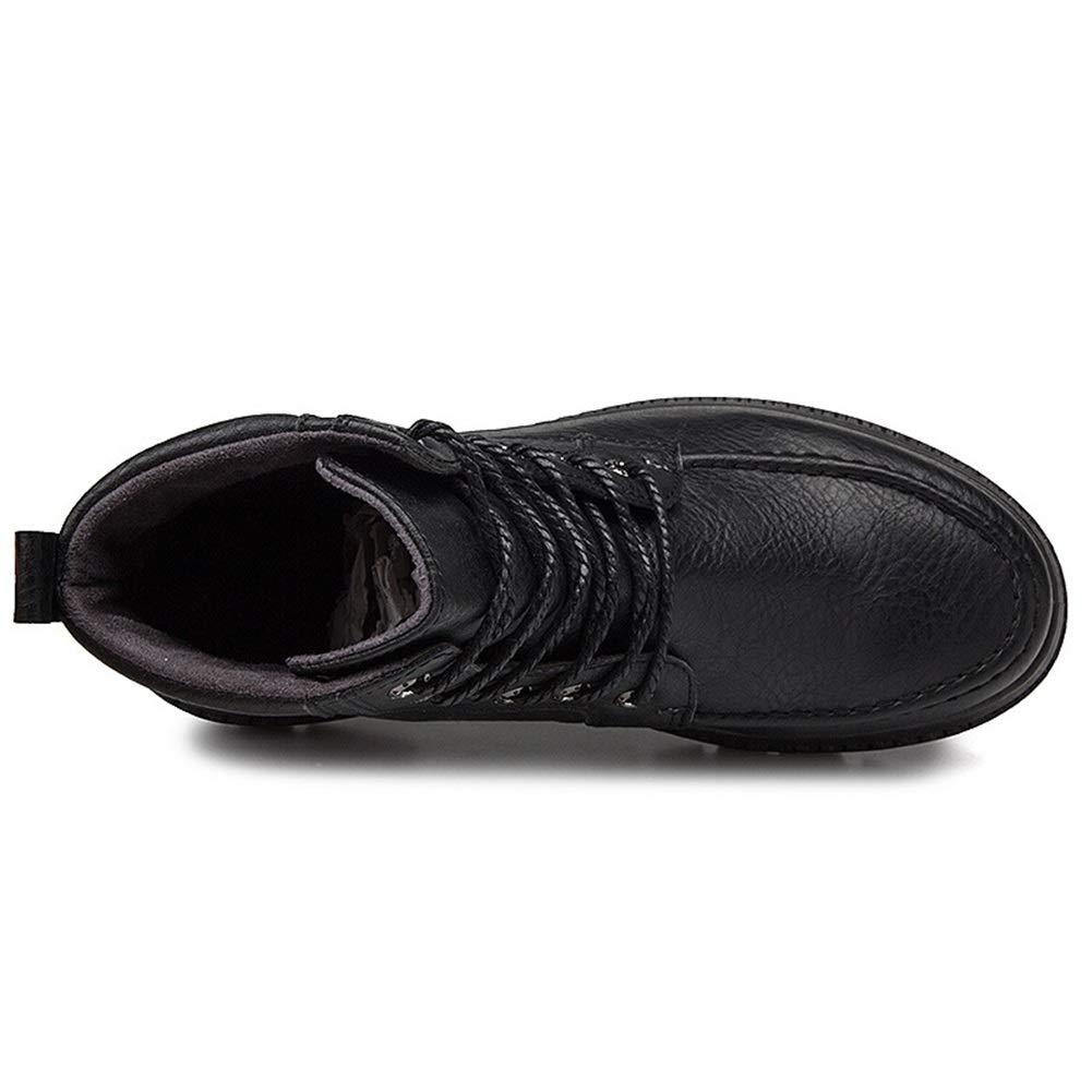 Männer Männer Männer Schuhe Herren Stiefel, Herren High-Top Stiefeletten Männlichen England Stiefel Runde Kopf Retro Academy Herren Stiefel für Herbst Winter Herrenmode Stiefel (Farbe   C, Größe   39) e3a32b