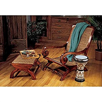 Design Toscano British Plantation Arm Chair