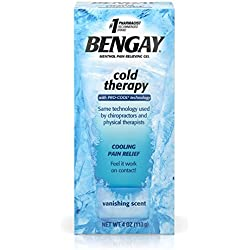 Bengay Cold Therapy Pain Relieving Gel With Pro-Cool Technology, Cooling Pain Relief, 4 Oz