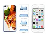 chicken nuggets iphone 5c case - Yummy Honey Chicken Wings Clear Plastic Phone Case Back Cover Apple iPhone 5c comes with Security Tag and MyPhone Designs(TM) Cleaning Cloth