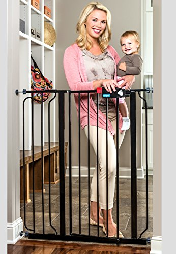 Regalo Deluxe Easy Step Extra Tall Gate, Black 51dlklwAdKL