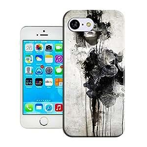 Amazing Hard Plastic iPhone 5c Case, Fate Inn-337.Woman Dramatic (1)-iPhone 5c case