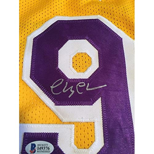 ca29cc4d85db Chevy Chase Autographed Signed Fletch Los Angeles Lakers Jersey Bas Beckett  Coa