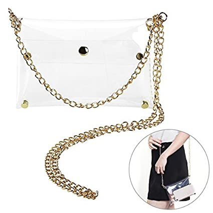 2eca875b830b Amazon.com  Tinksky Clutch Shoulder Bag Crossbody Bag with Chain Strap Handbag  Purse