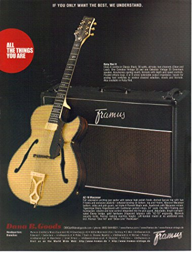 print-ad-2007-framus-az-10-macassar-archtop-jazz-guitar-ruby-riot-ii-amp-if-you-only-want-the-best-w
