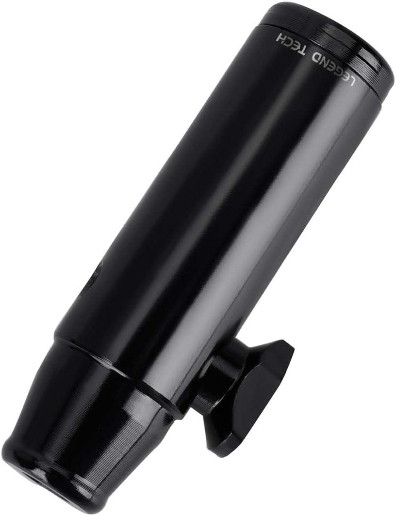 LegendTech Sniffer Snorter, Dispensador de Aleación de Aluminio Botella de Sniff Rapé Sniffer Uso Conveniente Fácil Limpieza para Tienda Sniff Snuff Regalo 5.2 cm Longitud 1.5 cm Diámetro Negro