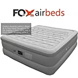 Best Inflatable Air Bed By Fox Airbeds - Plush High Rise Air Mattress in California King Size