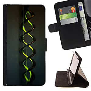 For HTC One Mini 2/ M8 MINI Double Helix Glow Style PU Leather Case Wallet Flip Stand Flap Closure Cover