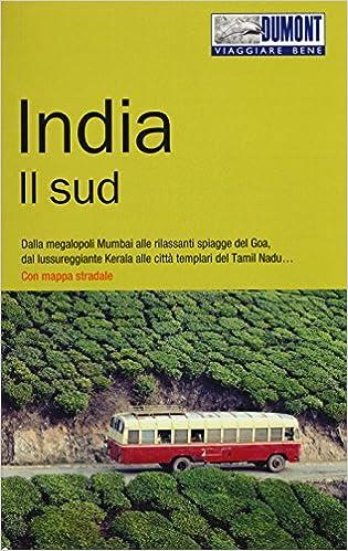 India Cartina Geografica.Amazon It India Il Sud Con Carta Geografica Ripiegata Karen