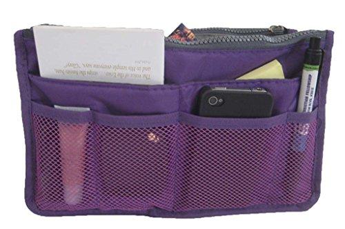 women-travel-insert-handbag-organiser-purse-large-liner-organizer-tidy-bag-purple