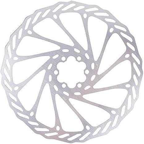 SODIAL Rotor de Disco de Freno de Acero Inoxidable de Bicicleta de ...