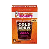 Dunkin' Donuts Cold Brew Coffee Packs, Smooth & Rich Ground Coffee,8.46 Ounce (Pack of 6)