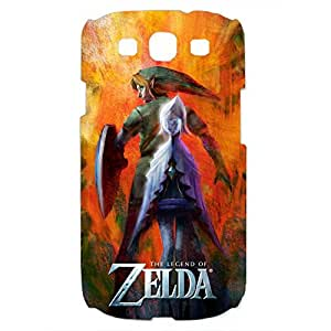The Legend of Zelda Phone Case Design Link Image Theme 3D Hard Plastic Case Cover For Samsung Galaxy S3 Legend of Zelda Series