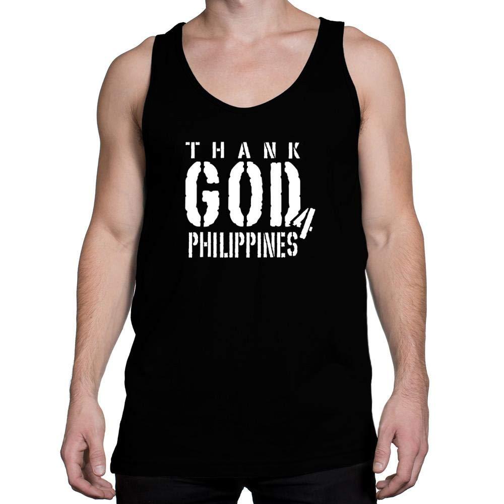 Idakoos Thank god for Philippines Tank Top