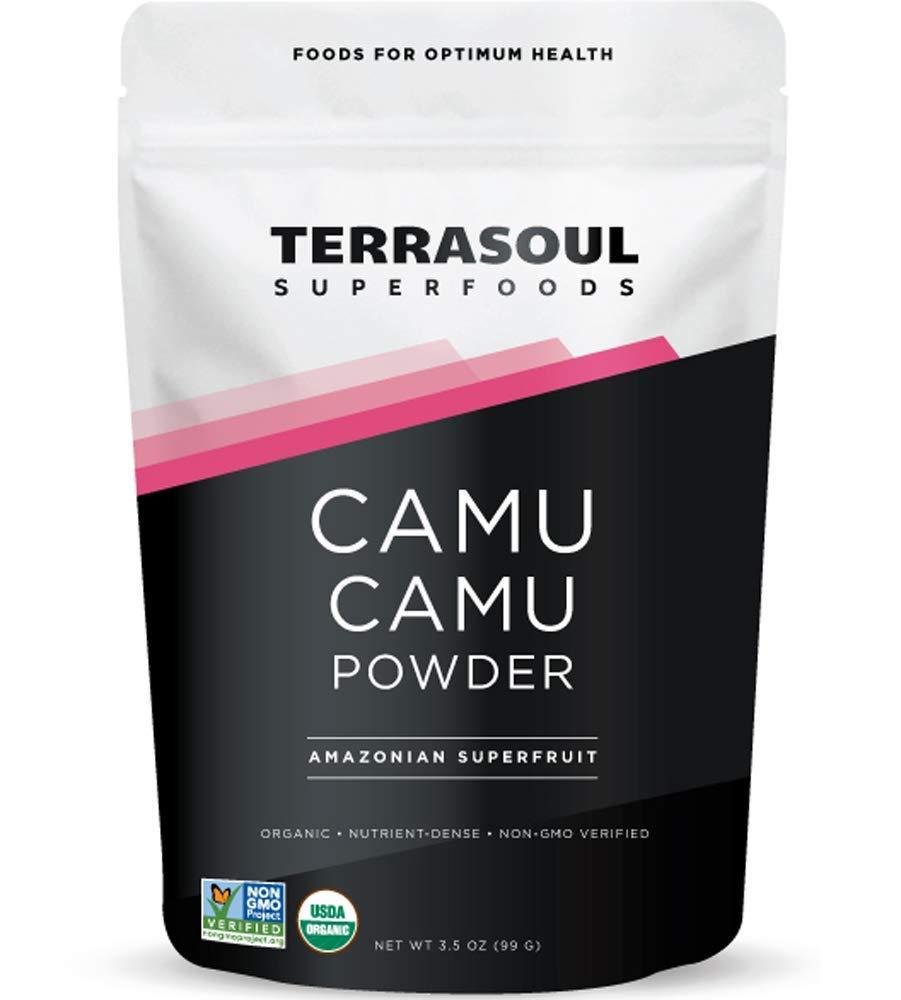 Terrasoul Superfoods Camu Camu Powder (Organic), 3.5 Ounce
