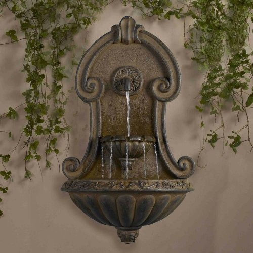 - Muro Elegante Wall Fountain Finish: Copper