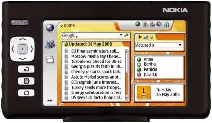 Nokia 770 Internet Tablet PC