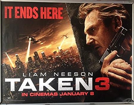 Cinema Poster: TAKEN 3 2015 (Advance Quad) Liam Neeson