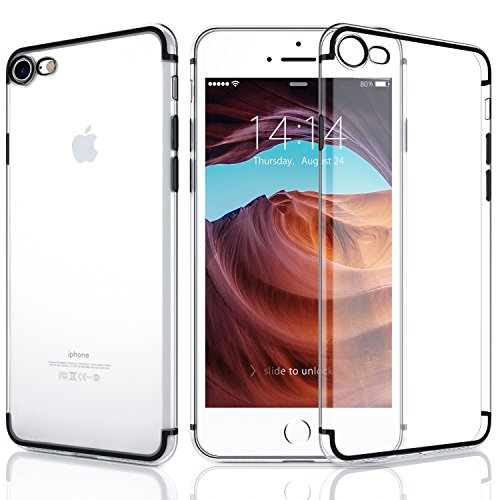 Cheap Cases iPhone 8 Case, iPhone 7 Case, DTTO [Lightening Series] Clear Style Slim..