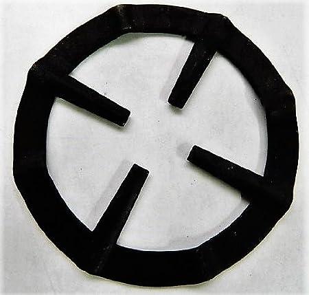 Reductor de rejilla para mesa de horno placa cocina de gas salvamanteles de para cafeteras espresso cacerolas Pots (negro): Amazon.es: Hogar