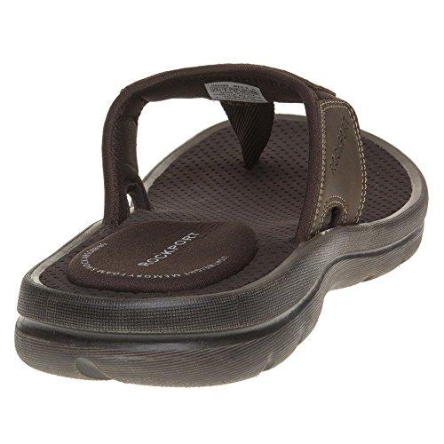 Rockport Herren Get Your Kicks Double New Thong T-Spange Braun