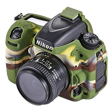 Mecaweb Funda Cover Carcasa Silicona para Fotocamera Nikon D750 ...